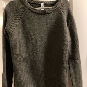 Lululemon Olive Green Sweater- Never Worn Size 10